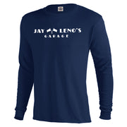 Jay Leno's Garage Original Horizontal Logo Long Sleeve T-Shirt