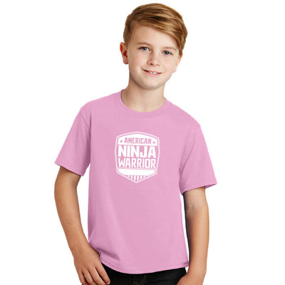 American Ninja Warrior Kids Pink T-Shirt
