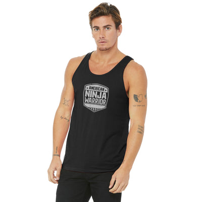 American Ninja Warrior Men's Black Tank