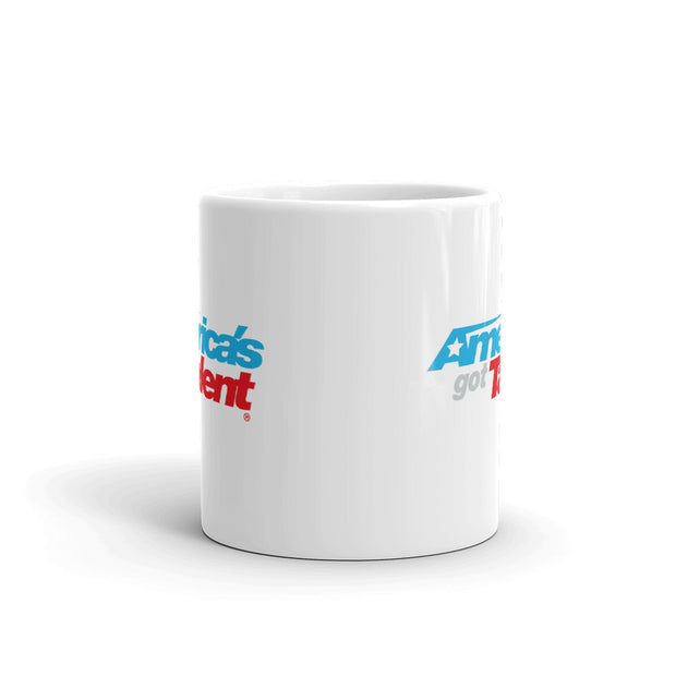 America's Got Talent Logo White Mug