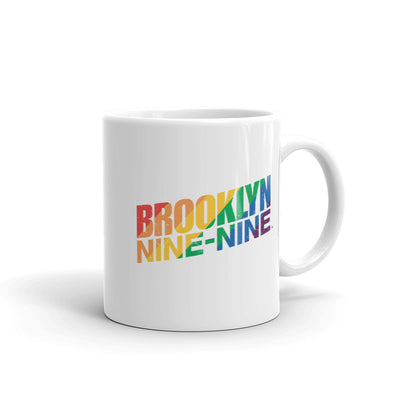 Brooklyn Nine-Nine Pride White Mug