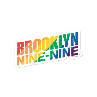 Brooklyn Nine-Nine Pride Die Cut Sticker