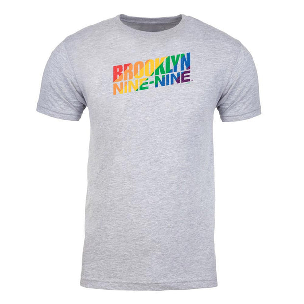 Brooklyn Nine-Nine Pride Adult Short Sleeve T-Shirt
