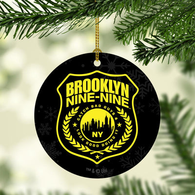 Brooklyn Nine-Nine Badge Double-Sided Ornament