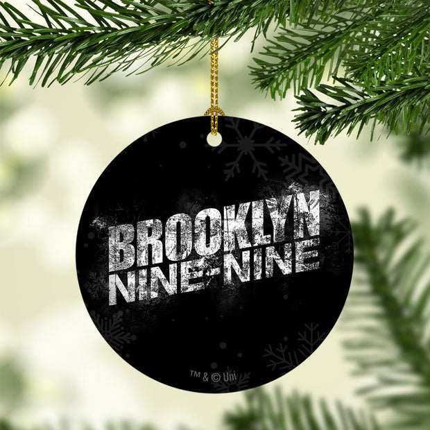 Brooklyn Nine-Nine Logo Double-Sided Ornament
