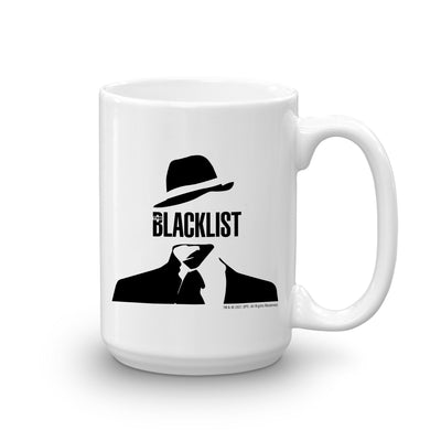 The Blacklist Man Icon White Mug