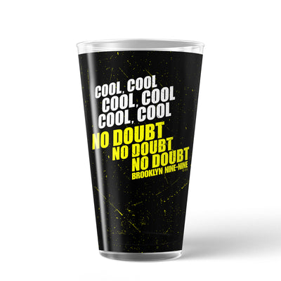 The Office Cool Cool Cool 17 oz Pint Glass