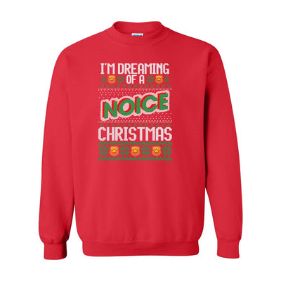 Brooklyn Nine-Nine Noice Ugly Christmas Fleece Crewneck Sweatshirt