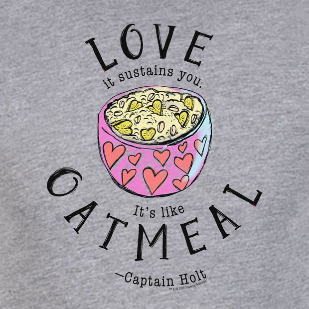 Brooklyn Nine-Nine Captain Holt's Love Quote Men's Tri-Blend T-Shirt
