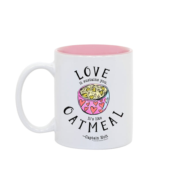 Brooklyn Nine-Nine Captain Holt's Love Quote Two-Tone Mug