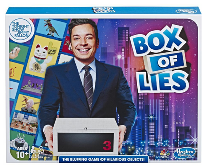 The Tonight Show Starring Jimmy Fallon Box of Lies Game