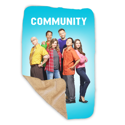 Community Cast Sherpa Blanket