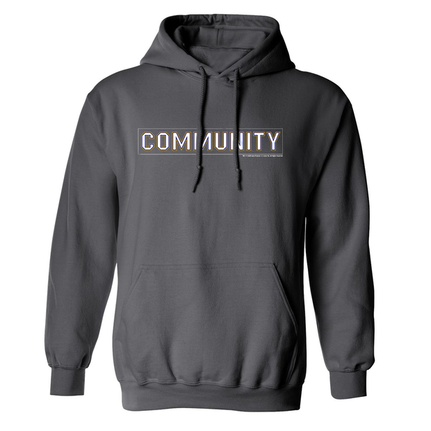 Community Logo Fleece Hooded Sweatshirt