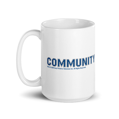 Community Logo White Mug