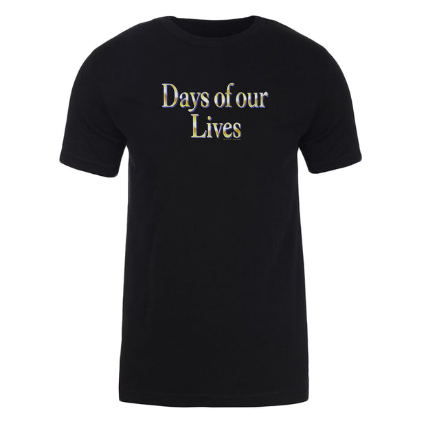 Days of Our Lives Logo Adult Short Sleeve T-Shirt