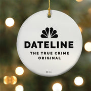 DATELINE Andrea Canning Double-Sided Ornament