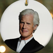 DATELINE Keith Morrison Double-Sided Ornament