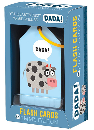 The Tonight Show Starring Jimmy Fallon Your Baby's First Word Will Be Dada Flashcards