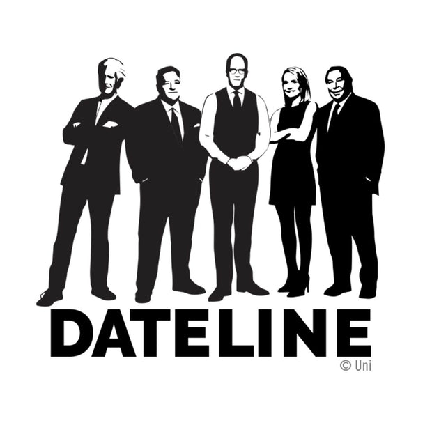 DATELINE Correspondents White Mug