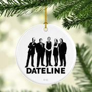 DATELINE Correspondents Double-Sided Ornament