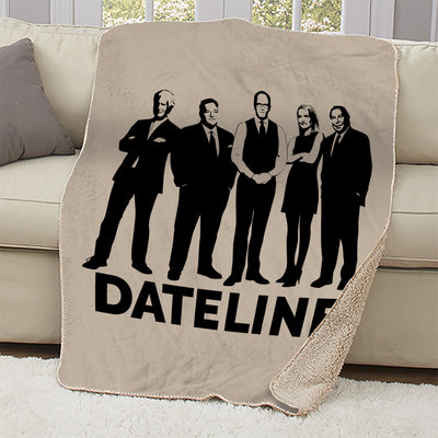DATELINE Correspondents Sherpa Throw Blanket