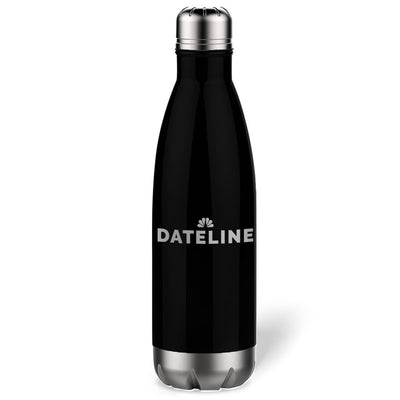 DATELINE Logo 17 Oz Stainless Steel Slim Water Bottle