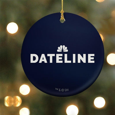 DATELINE Double-Sided Ornament