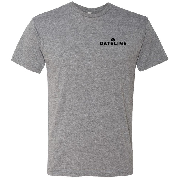DATELINE Men's Tri-Blend Short Sleeve T-Shirt