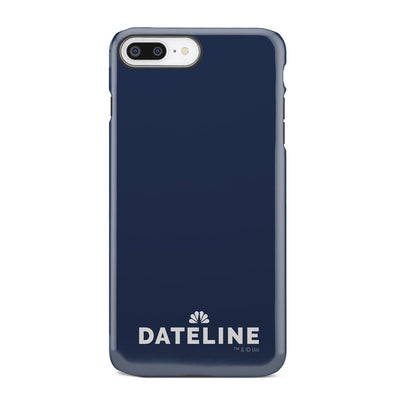 DATELINE Logo iPhone Tough Phone Case