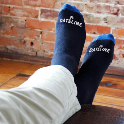 I'm Watching DATELINE Socks