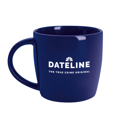 DATELINE The True Crime Original Navy Jumbo Mug