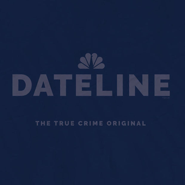 DATELINE Logo Sherpa Throw Blanket