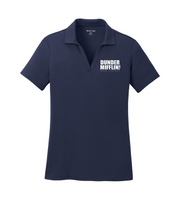 The Office Dunder Mifflin Women's Embroidered Polo