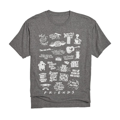 Friends Mashup Tee