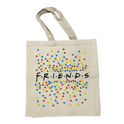 Friends Polka Dot Logo Tote Bag