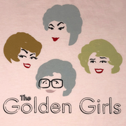 The Golden Girls Retro Pink Tee