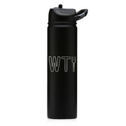 The Good Place WTFork Laser Engraved SIC Water Bottle