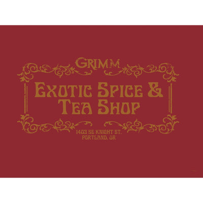 Grimm Exotic Spice & Tea Shop Poster - 18x24