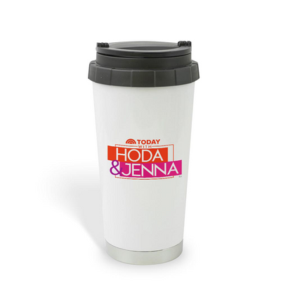 TODAY Show With Hoda & Jenna 16 oz Stainless Steel Thermal Travel Mug