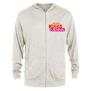 TODAY with Hoda & Jenna Tri-Blend Zip-Up Hooded Sweatshirt