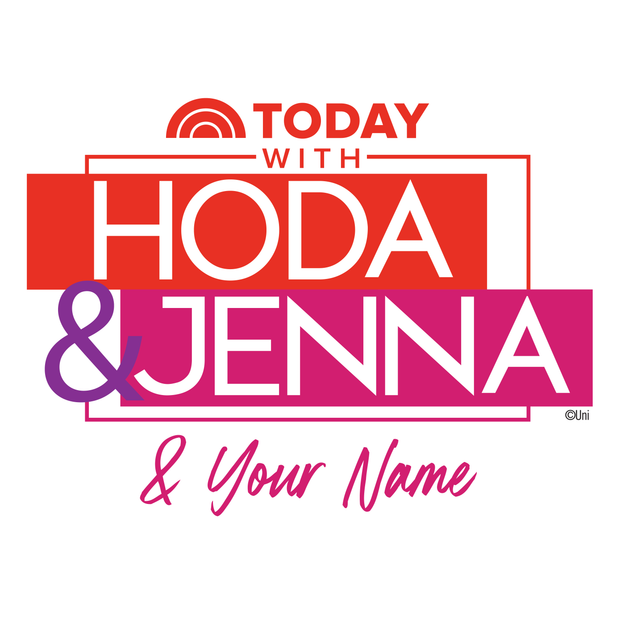 TODAY with Hoda & Jenna Personalized 16 oz Stainless Steel Thermal Travel Mug