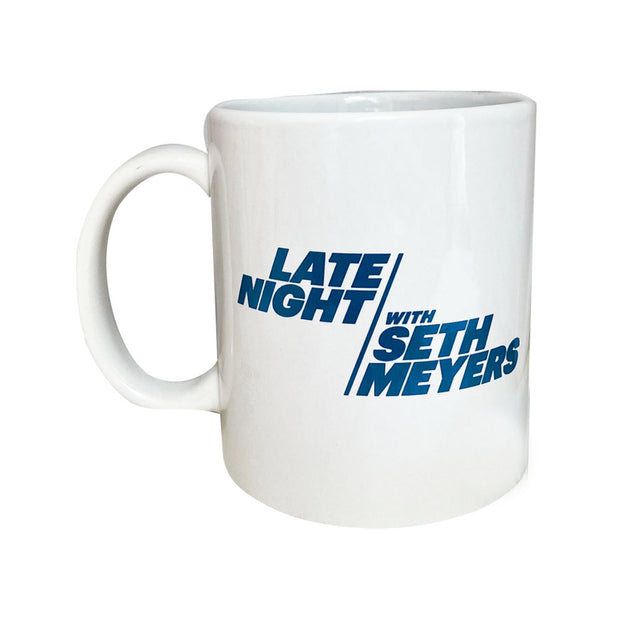 Late Night with Seth Meyers Official On-Air Logo Mug