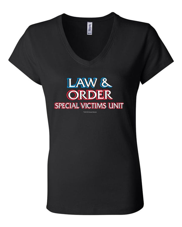 Law & Order: Special Victims Unit Women's V-Neck Short Sleeve T-Shirt