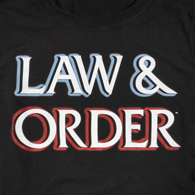Law and Order Women's Logo Tee
