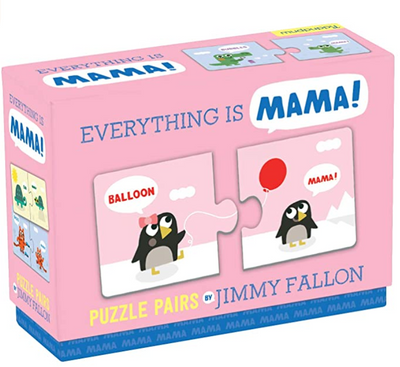 The Tonight Show Starring Jimmy Fallon Everything Is Mama Puzzle Pairs