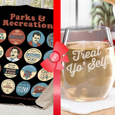 Parks and Recreation Treat Yo Self Gift Wrapped Bundle