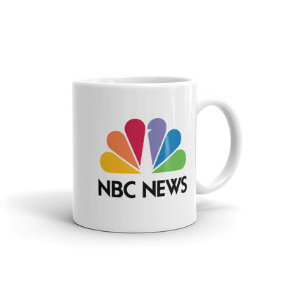 NBC News Logo White Mug