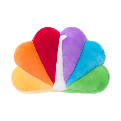 NBC Peacock Pillow