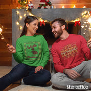 The Office Bears. Beets. Battlestar Galactica Ugly Christmas Sweatshirt