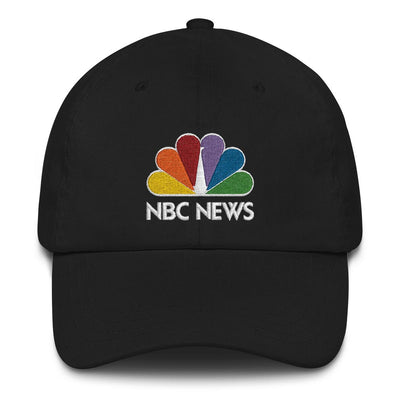 NBC News Stacked Logo Embroidered Hat